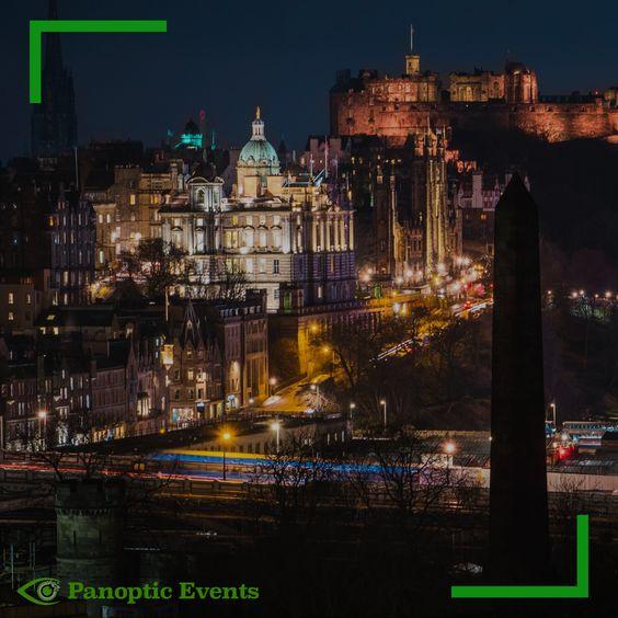 See Scotland - Edinburgh City at Night