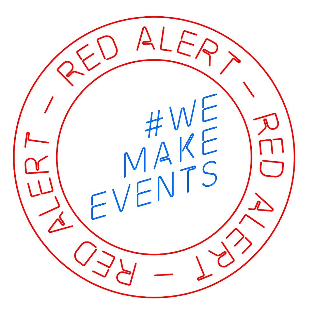Red Alert WeMakeEvents