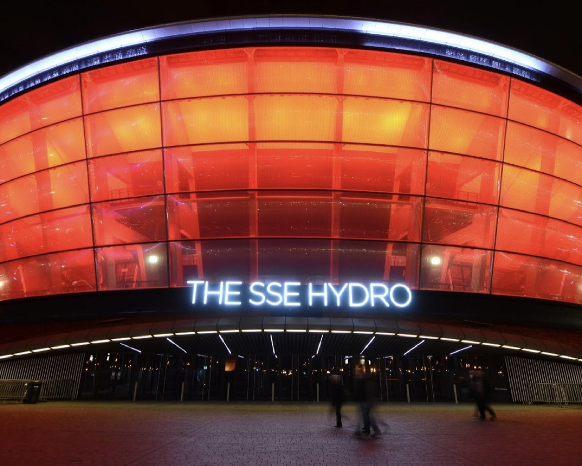 Lightitinred The SSE Hydro
