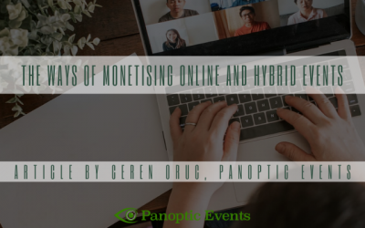 The Ways of Monetising Online and Hybrid Events