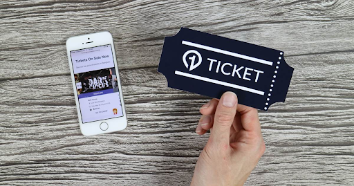 ticket for monetising online and hybrid events