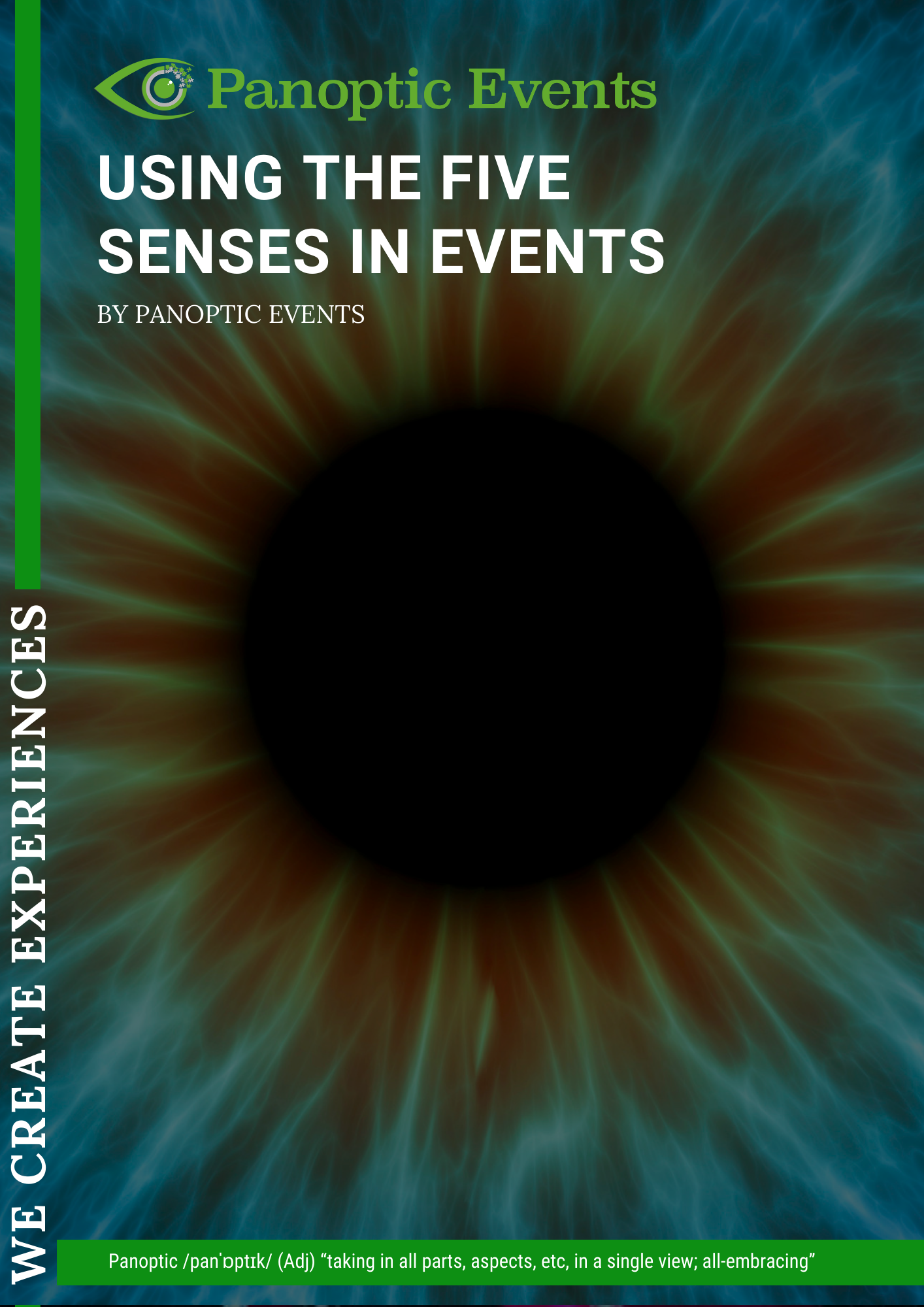 using the five senses at events