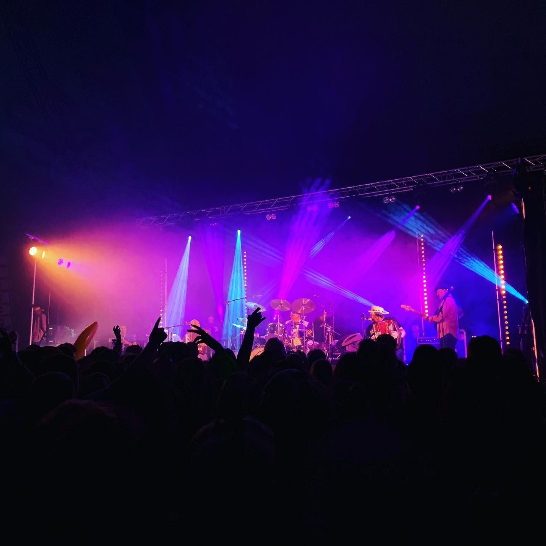 Beò Festival stage