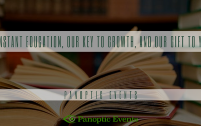 Constant education, our key to growth, and our gift to you