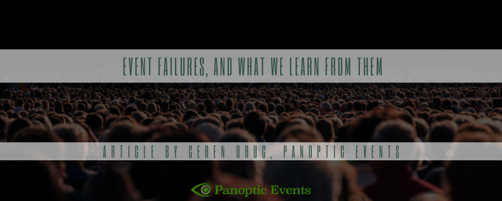 Event failures, and what we learn from them