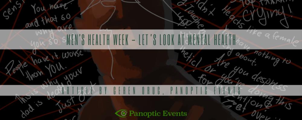 Men's Health Week - let's look at mental health
