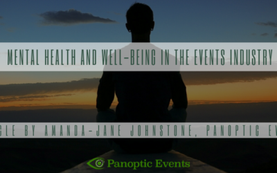 Mental Health and Well-being in The Events Industry