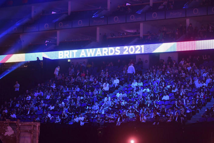 The BRIT Awards Trial research for the return of mass events