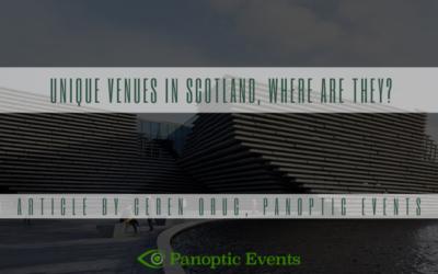 Unique Venues In Scotland, Where Are They?