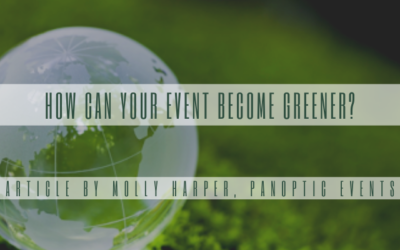How can your event become greener?
