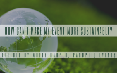 How Can I Make My Event More Sustainable?