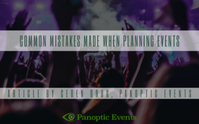Common Mistakes Made When Planning Events
