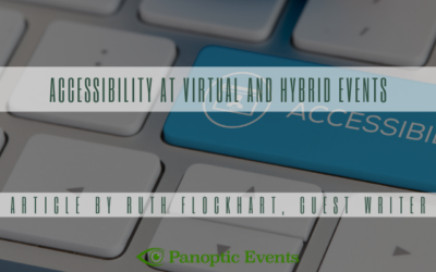 Accessibility at Virtual and Hybrid Events