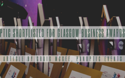 Panoptic Shortlisted for Glasgow Business Awards 2021