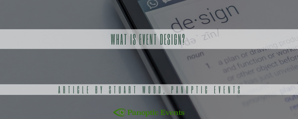 What Is Event Design?